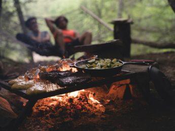 cuisine en camping